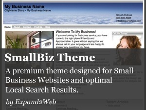 Expand2Web SmallBiz company WordPress theme
