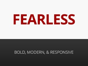 Fearless - Modern, Clean, & Responsive WP Magazine WordPress magazine theme