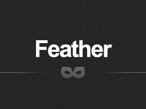 Feather WordPress template