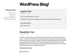 Fiver WordPress theme image
