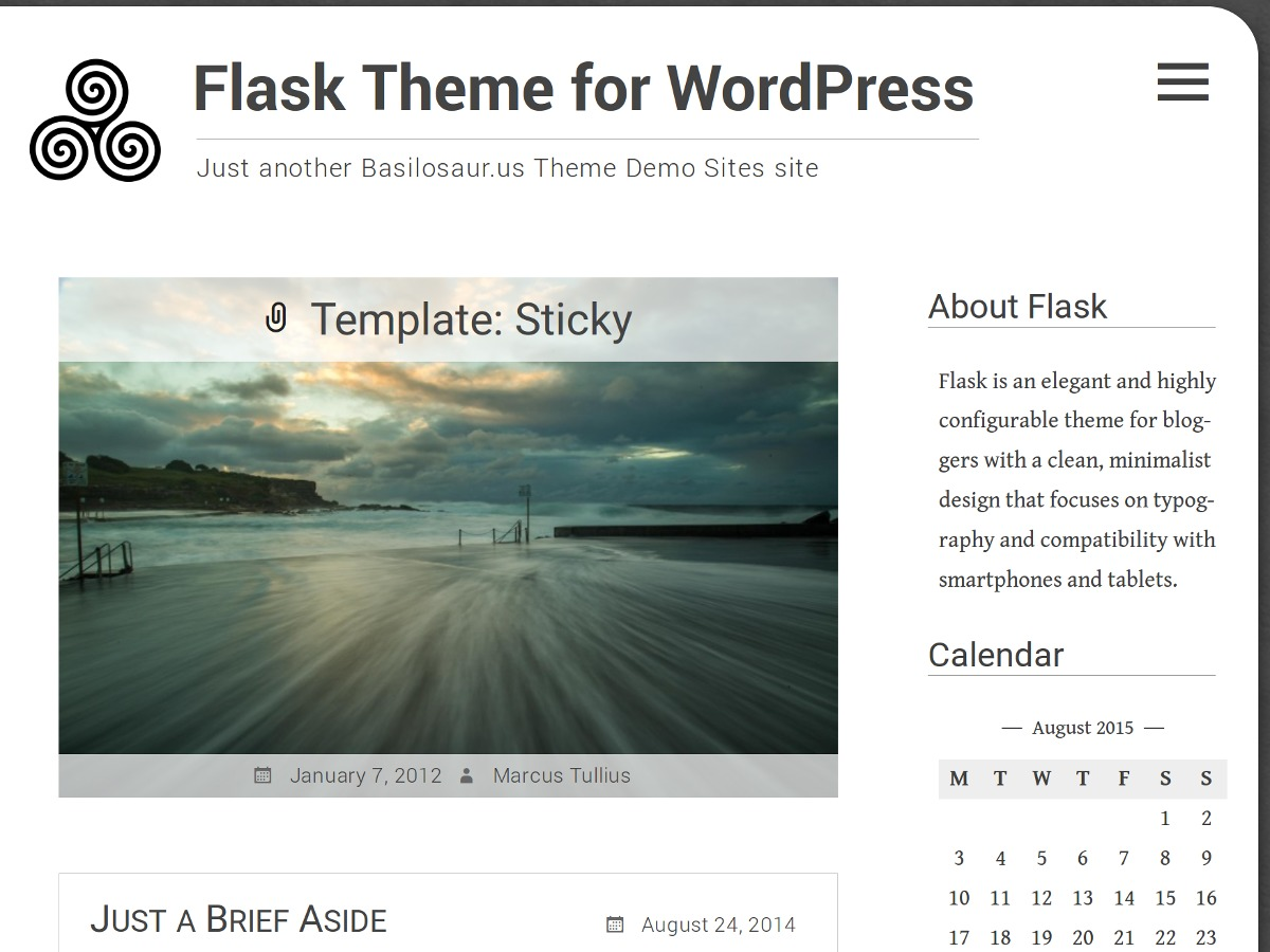 Flask WordPress ecommerce template