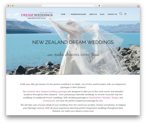 WordPress WPBakery Page Builder plugin - weddingsnewzealand.com