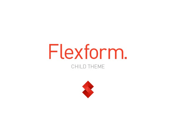 Flexform Child Theme WordPress theme design