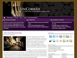 Flexx Theme - UnCorked WordPress blog template