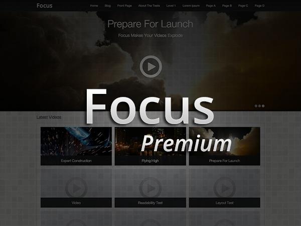 Focus Premium WordPress blog theme