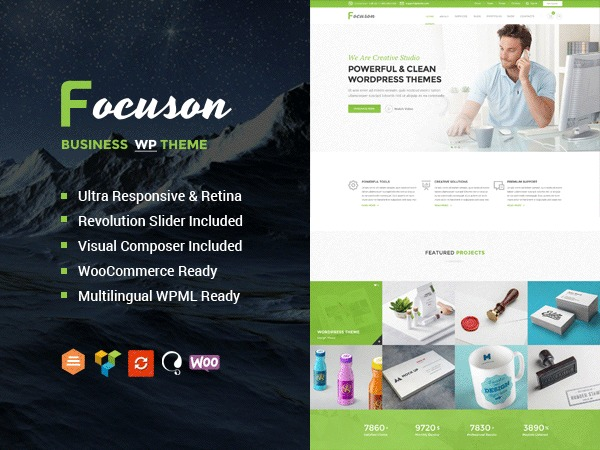 Focuson premium WordPress theme