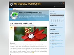 Gear premium WordPress theme