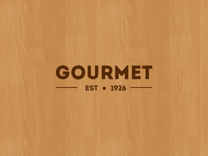 Gourmet theme WordPress