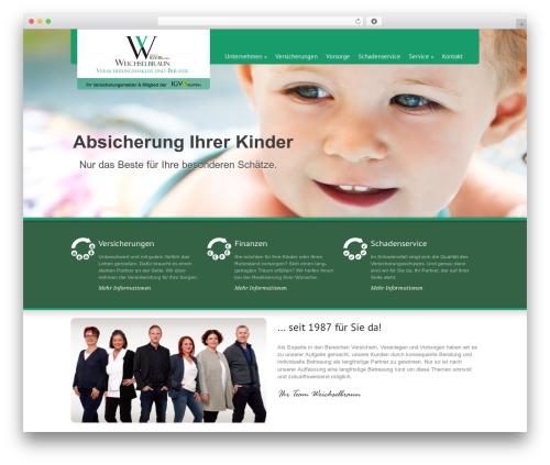 Green Earth WordPress theme design - weichselbraun.at