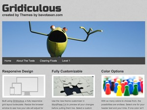 Gridiculous WordPress theme image
