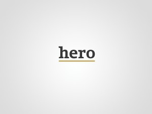 Hero Child WordPress theme