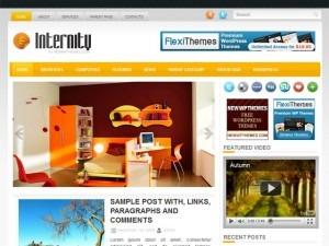 Internity WordPress theme