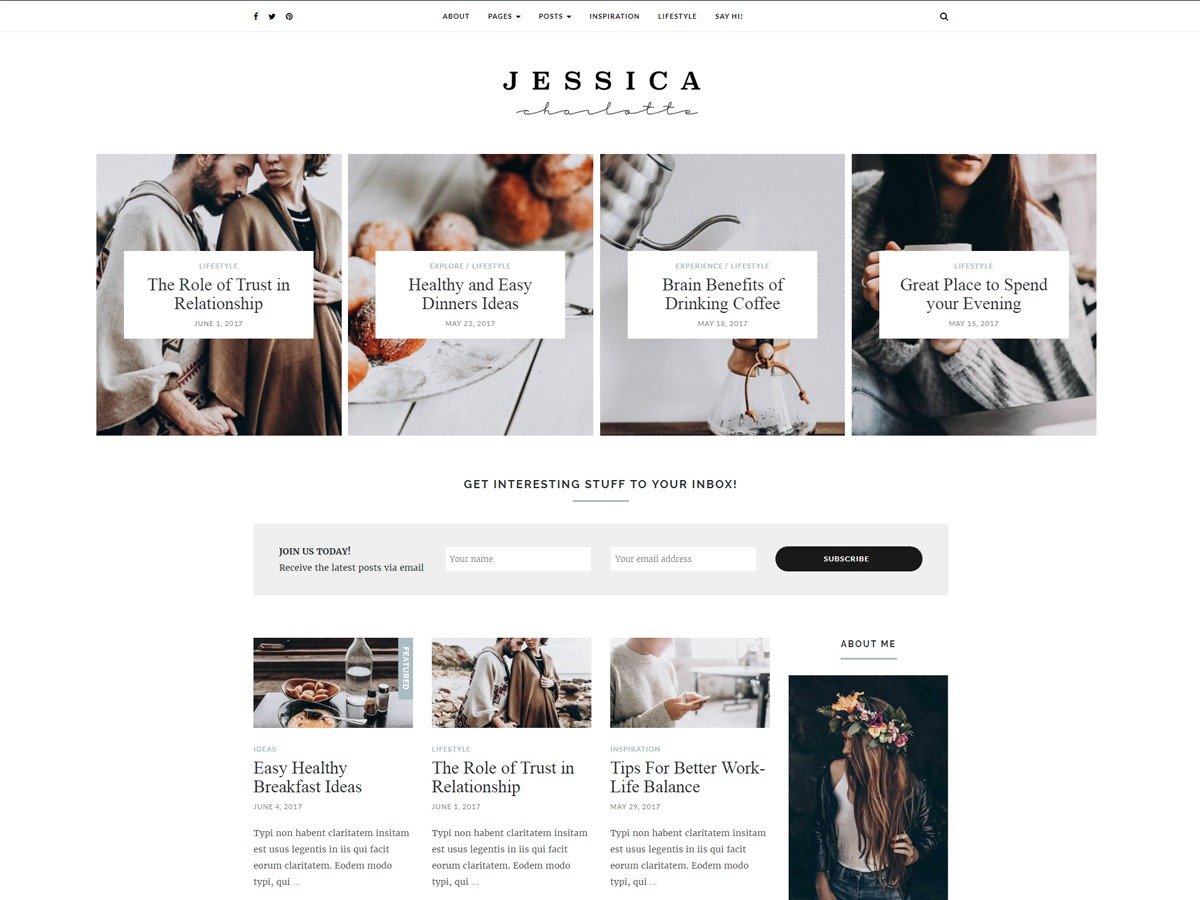 Jessica best WooCommerce theme