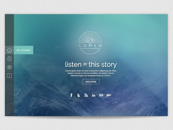 lumen template WordPress