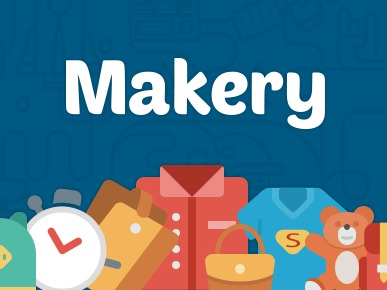 Makery (shared on wplocker.com) WP theme