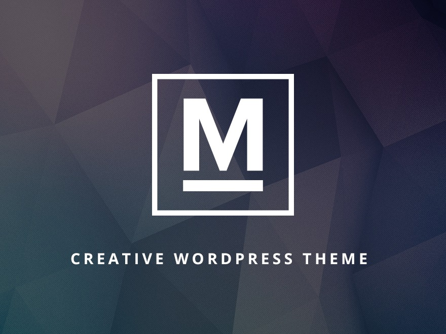 Max WordPress page template