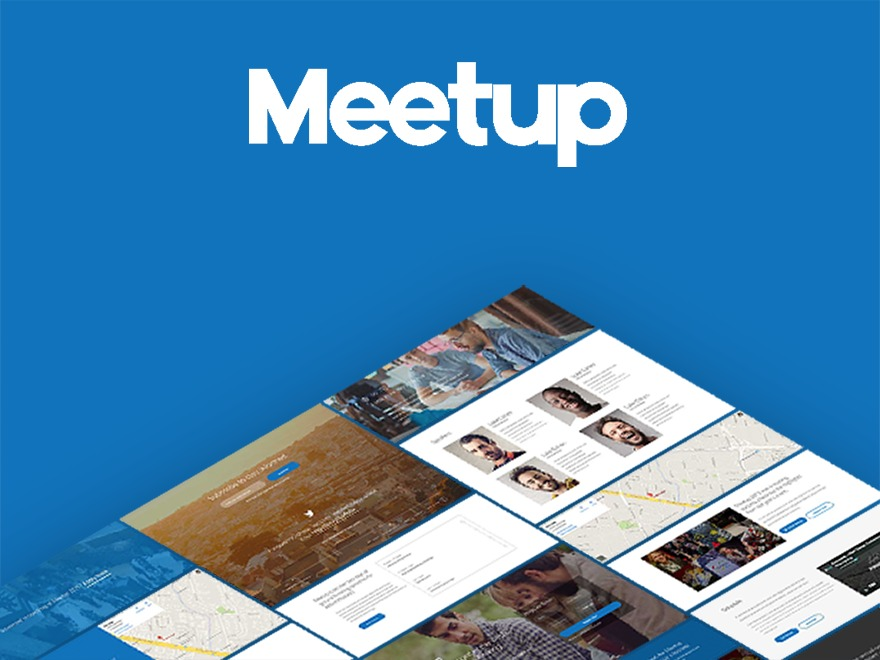 Meetup top WordPress theme