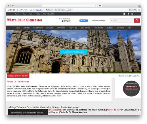 MH Newsdesk template WordPress - whatsoningloucester.com