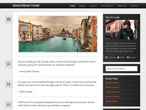 Mindstream Child Theme best WordPress theme