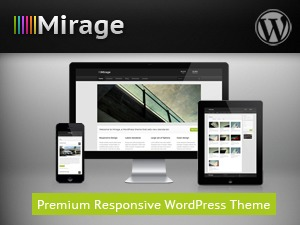 Mirage WordPress template for business