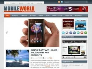 MobileWorld WordPress theme