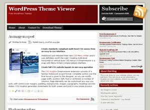 ModXBlog WordPress blog template