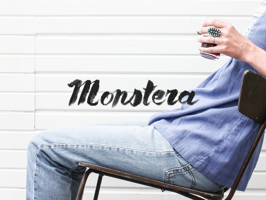 Monstera Child WP template