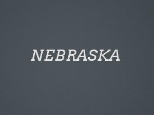 Nebraska WordPress portfolio theme