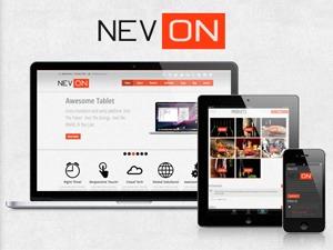 Nevon Theme premium WordPress theme