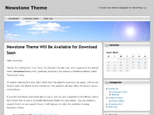 NewStone WordPress magazine theme