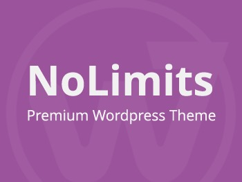 NoLimits top WordPress theme
