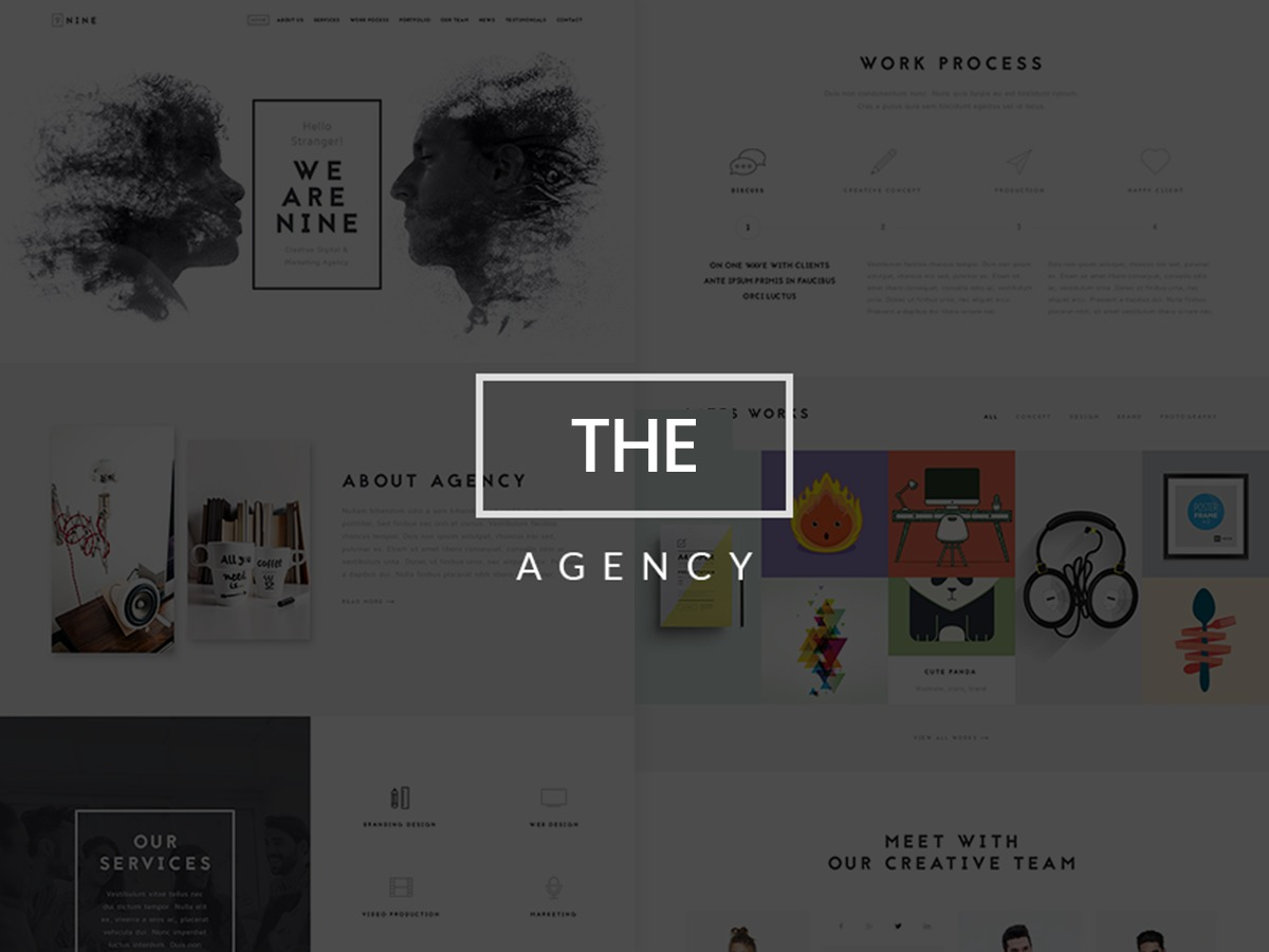 NRGAgency best WordPress theme