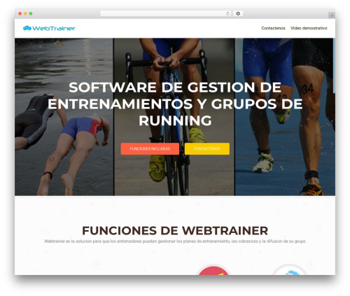 OnePirate WP theme - webtrainer.inm.me