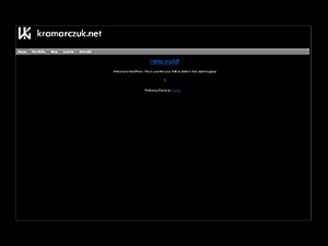 Photoblog WordPress blog theme