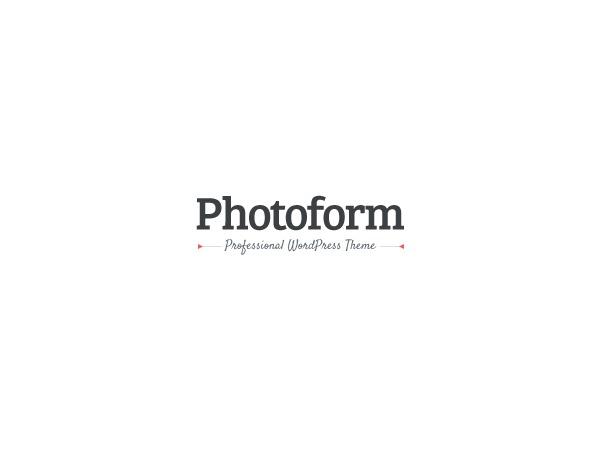 Photoform WP theme