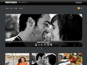 PhotoTouch theme WordPress