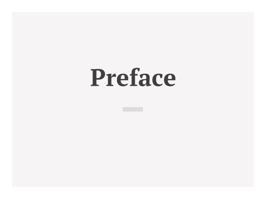 Preface WordPress theme