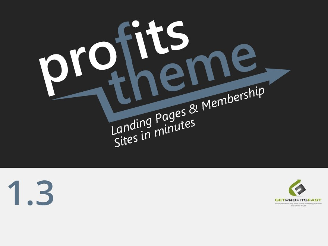 Profits Theme WordPress blog theme