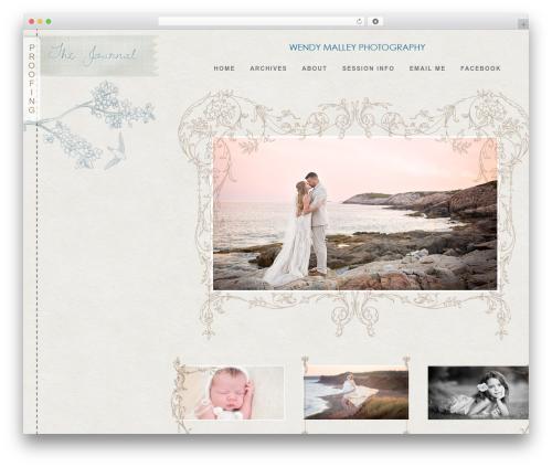 ProPhoto best WordPress template - wendymalleyphotography.com