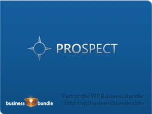 Prospect WordPress template