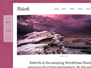 Rebirth WordPress theme