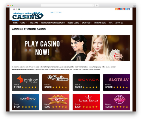 Free WordPress ThirstyAffiliates Affiliate Link Manager plugin - winningatonlinecasino.com