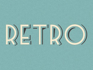 Retro WordPress template for photographers