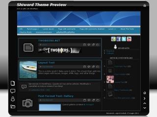 Shiword WordPress theme