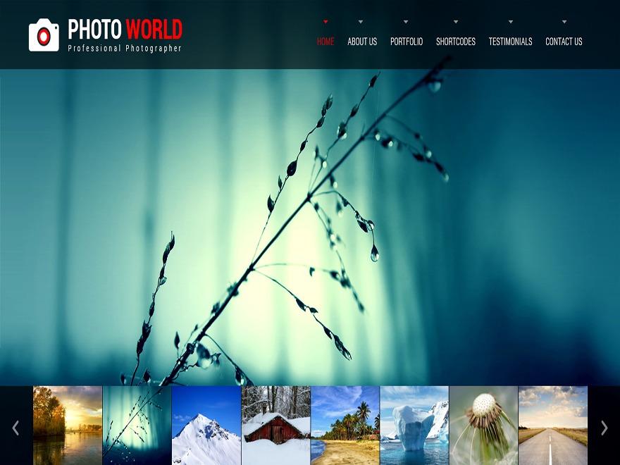 SKT Photo World wallpapers WordPress theme