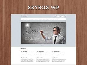 Skybox - Responsive Multipurpose WordPress Theme personal blog WordPress theme