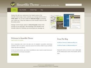 SmartBiz business WordPress theme