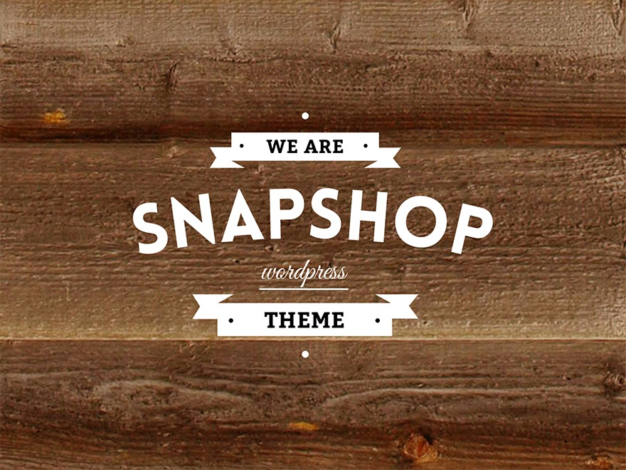 SnapShopWP WordPress shopping theme
