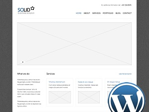 Solid WP WP theme