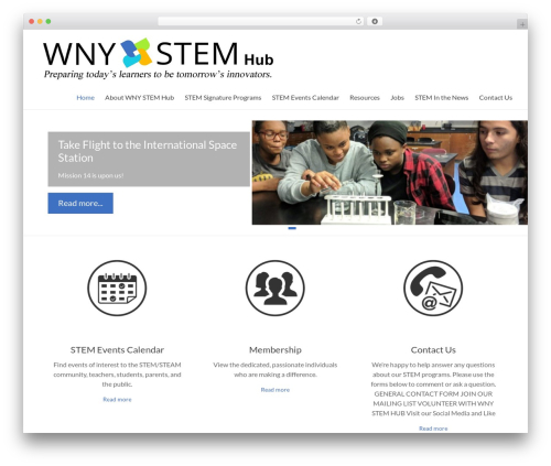 Free WordPress WP Header image slider and carousel plugin - wnystem.org